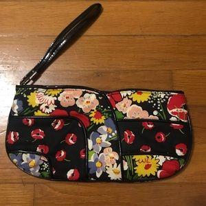 Vera Bradley floral clutch